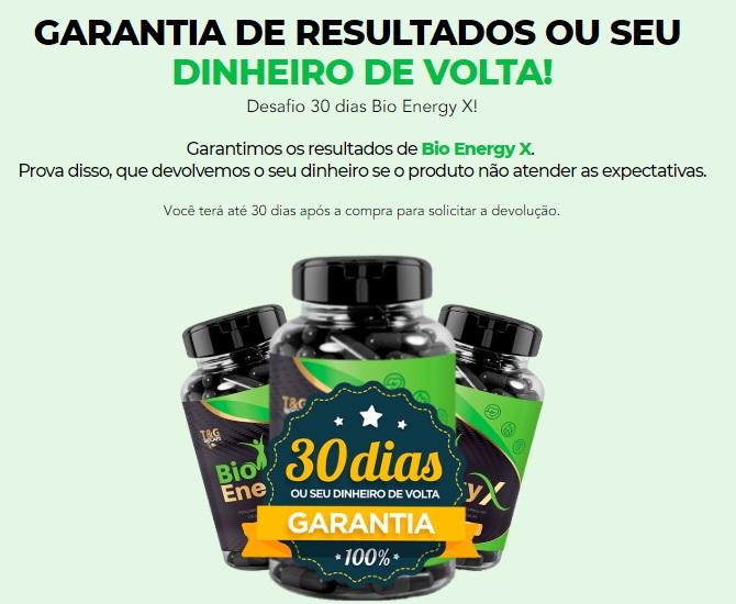 bio energy x garantia
