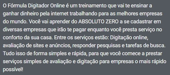 formula digitador online