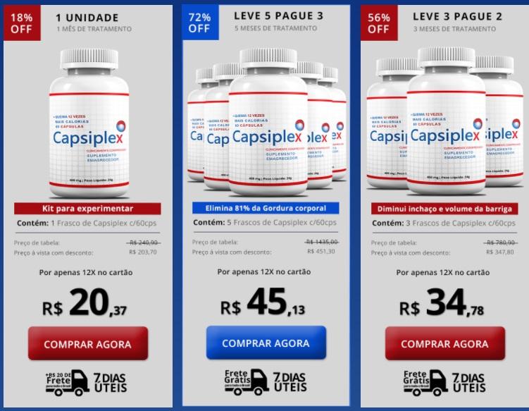 capsiplex preco 1