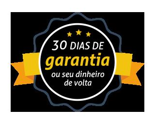 SELO DE GARANTIA 30 dias dinheiro de volta
