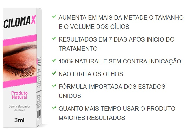 cilomax beneficios