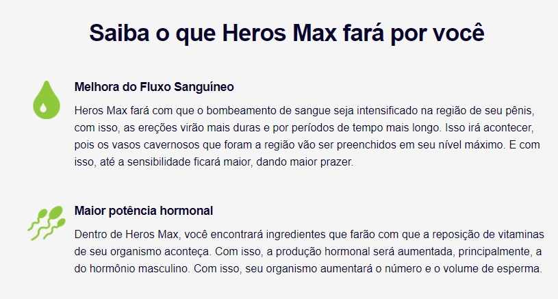 heros max beneficios